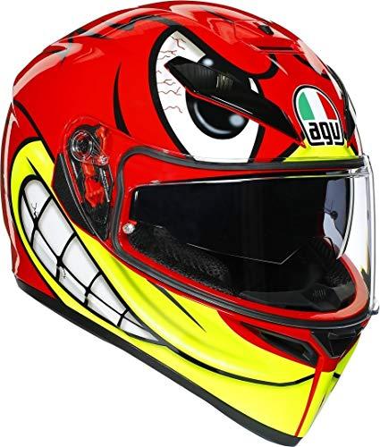 AGV Herren K3 SV Motorradhelm, Birdy, M-L