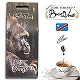 Café Italiano Bocca Della Verità Café en Grano Tostado Natural CONGO - Bolsa de 1 KG