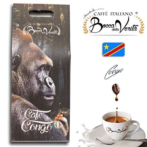 Coffee Beans Espresso Congo ROBUSTA (Canephora) | 1Kg Pack | Bocca Della Verita
