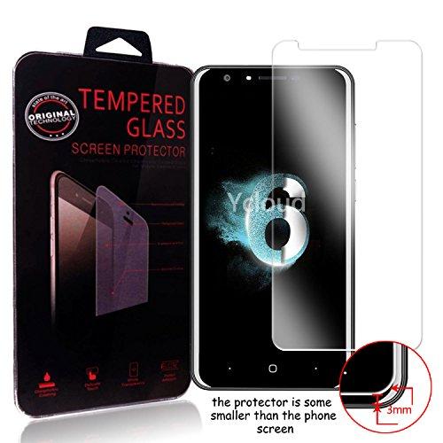Ycloud Protector de Pantalla para Doogee Y6 Cristal Vidrio Templado Premium [9H Dureza][Alta Definicion]