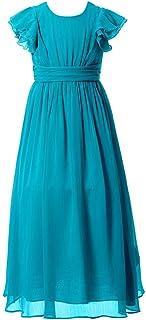 Happy Rose ガールズドレス 女の子ドレス ワンピース パーティードレス 発表会ドレス 演奏会ドレス フォーマルドレス 写真撮影 フォーマルワンピース