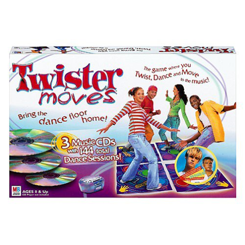Twister Moves by Milton Bradley