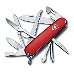 A CUT ABOVE THE REST: Compact, agile and ready to face any adventure head-on. Our range of Swiss Army Knives have been established since 1897 and continue to be an icon of utility and smart design. DURABLE CONSTRUCTION: Swiss made stainless steel con...