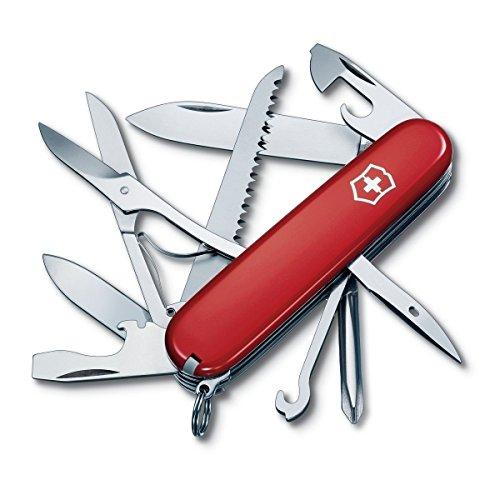 Amazon.comm | Victorinox Swiss Army Fieldmaster Pocket Knife, Red,91mm
