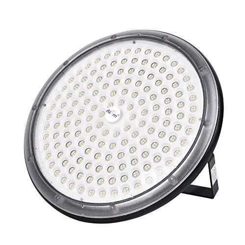 Yuanline LED Projecteur UFO ultra-mince Lampe Industriel LED Extérieur Spot Phare de Travail 30W 50W 100W 150W Étanche IP65 extérieur stade intérieur place panneaux d'affichage usine entrepôt(150)