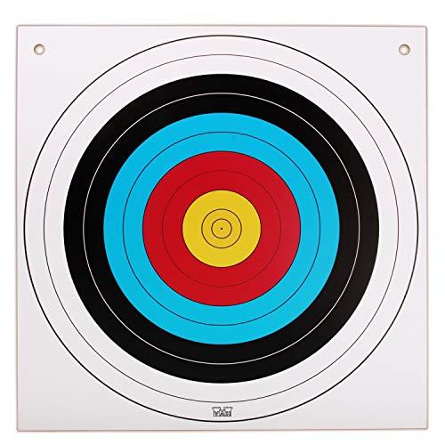 Stabile Zielscheibe quadratisch 42x42cm für Bögen und Armbrüste mit Saugpfeilen (735) – Spielzeugmanufaktur Vah [Made in Germany | traditionelles Handwerk | zum Aufhängen | Spielzeug]