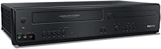 Philips DVP3355V/F7 DVD/VCR Player (Black) (Renewed)