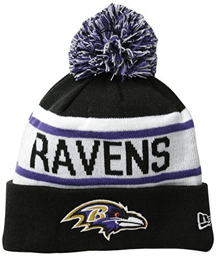 New Era Adult Men Baltimore Ravens Biggest Fan Redux Beanie