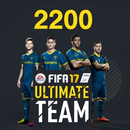 Electronic Arts FIFA 17 Ultimate Team 2200 Points Pack Spielekonsole, Game Card