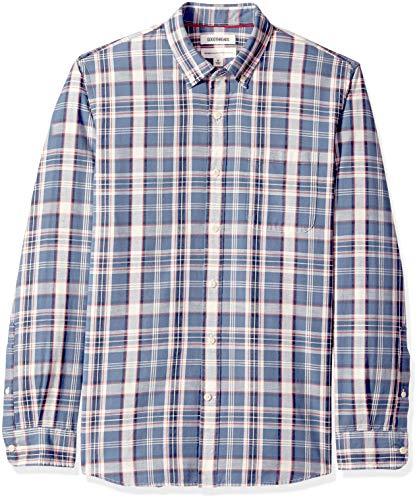 Marca Amazon – Goodthreads – Camisa manga larga