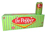 Dr Pepper Made with Real Sugar (Not Dublin Dr Pepper) Case of 24 ,12 Fl Oz.