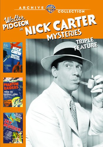 Nick Carter Mysteries: Triple Feature [Edizione: Stati Uniti] [Italia] [DVD]