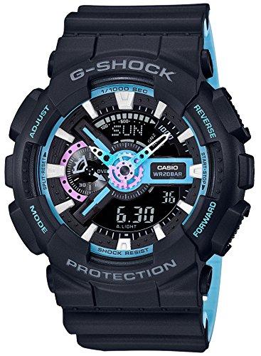 [カシオ] 腕時計 ジーショック Neon accent Color GA-110PC-1AJF メンズ