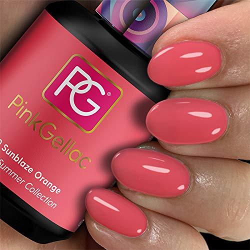 Pink Gellac Gel Nagellak Kleur 290 Sunblaze Orange