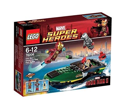 LEGO Super Heroes - Iron Man: E x tremis Sea Port Battle, Pack de Figuras de acción (Lego 76006)