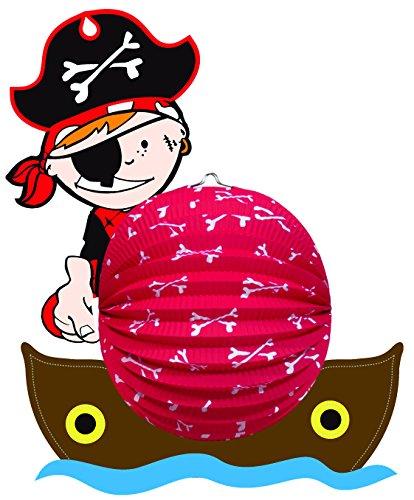 Idena 8310056 - Papierlaterne Pirat
