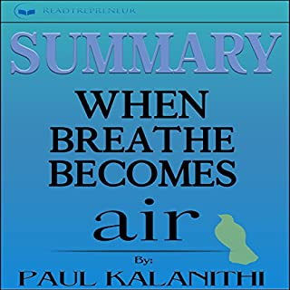 Summary: When Breath Becomes Air by Paul Kalanithi audiobook cover art