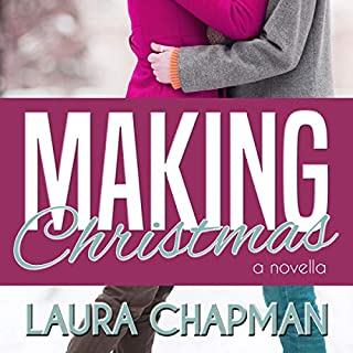 Making Christmas audiobook cover art