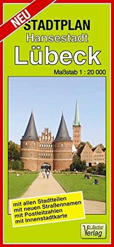 Stadtplan Hansestadt Lübeck: Maßstab 1:20000