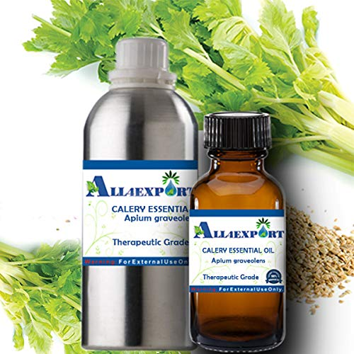 Great Deal! Essential Oil Pure Celery Seed Apium Graveolens Natural Undiluted 160 ML