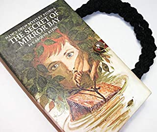 Nancy Drew Book Purse Secret of Mirror Bay Vintage Handbag