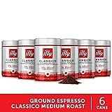 illy Classico Ground Espresso, Medium...