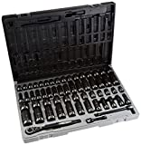 Grey Pneumatic (81659CRD) 3/8' Drive 59-Piece 6-Point Fractional and Metric Duo-Socket Set