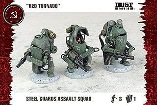 Flames Of War Dust Tactics - Red Tornado Steel Guard Assault Squad - Dt058 - New
