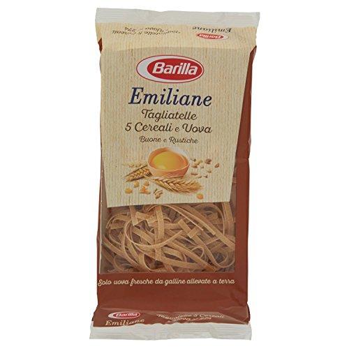 Barilla Emiliane Pasta Tagliatelle 5 Cereali e Uova, 250g