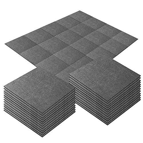 Alfombra autoadhesiva, 10 unidades, 12 x 12 pulgadas, antideslizante, sin fatiga, muebles para el hogar y para proteger el suelo, fácil de instalar DIY (35)