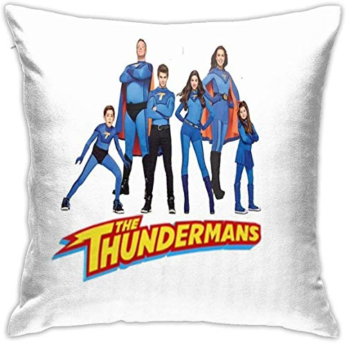YPPDPP The Thundermans Square Pillow Cases Cubierta de cojn Throw Pillow Cover Funda cojine Home Bed Room Interior Decoracin