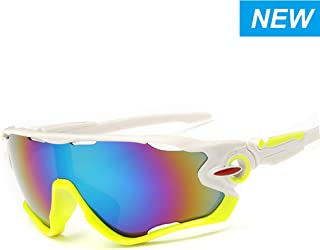 5a59461f9473 SNEER [2-Pack Polarized Sports Sunglasses Mens Womens Glasses for Cycling  Running Baseball