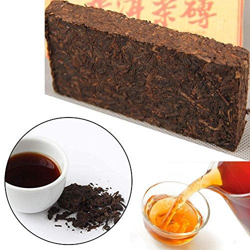 Puer Tea Brick, 100g Pu erh Tea Yunnan China - leeftijd 10 jaar - Pu-erh gefermenteerde rode thee 100g