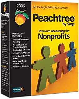 Peachtree Premium Accounting For Nonprofits 2006