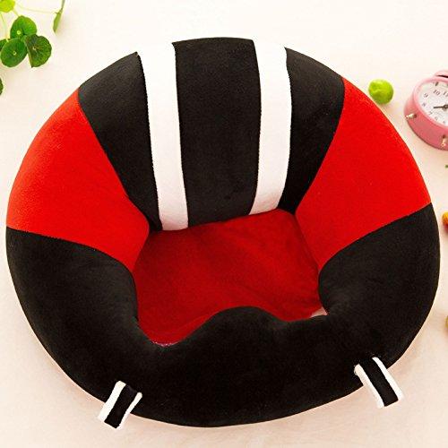 1 Stks Baby Ondersteuning Stoel Leer Zitstoel Veilige Eetstoel Kussen Sofa Verpleging Pluche Kussen Stoel Speelgoed voor 0-12 Maanden (8#)