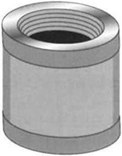 Pasco 7103-C 1/2-Inch Brass Coupling, Chrome