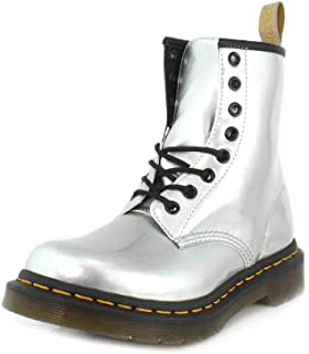 Dr. Martens Womens Vegan 1460 Chrome Metallic Boot