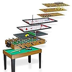 DEMA Tischkicker/Multigame 10 in 1