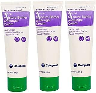Baza Moisture Barrier Antifungal Cream - 2 Ounce Tube - Pack of 3