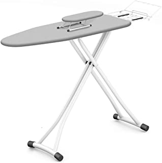 YJTGZ Ironing Board, Lightweight Compact Iron Steam Large Wardrobe Height Adjustable Five Gear Height, Free Adjustment Panel Size: 90 30Cm, Temperature Resistant Knitted Cotton(E)
