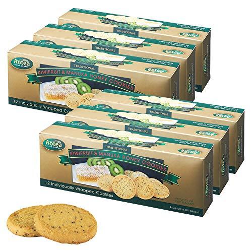 アオテア(Aotea ) キウイ&マヌカハニー クッキー 6箱セット【ニュージーランド おみやげ(お土産) 輸入食品 スイーツ】