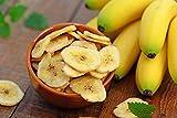 4 x 500 g Bananenchips | gesüßt | getrocknete Banane | Bananenscheiben | Snack | Chips | 2 kg