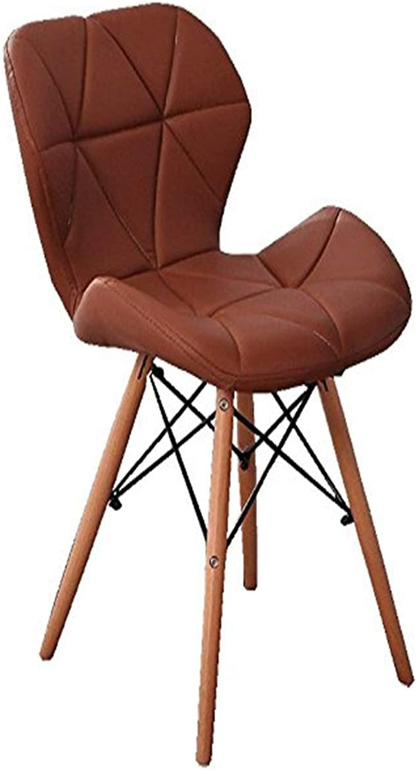 Stool Bar Stool Modern Minimalist Chair Computer Chair Solid Wood Dining Table and Chairs Home Leisure Chair A Variety of colors Optional +