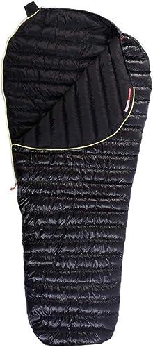 Mummy Sleeping Bag LIUSIYU Sac de Couchage Momie 95% semé dans l'oie, 3-4 Saisons, Sacs de Couchage Ultra-légers en Duvet -20 degrés C pour la randonnée et idéal pour Le Camping, la randonnée