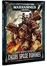 Games Workshop Warhammer 40k Chaos Space Marines Codex Heretic Astartes