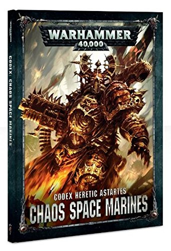Warhammer Codex Heretic Astartes Chaos Space Marines