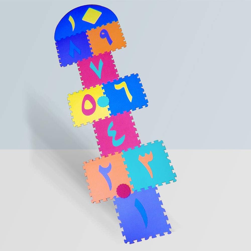 Arabic Numbers shipfree Hopscotch Max 85% OFF Foam Playmat