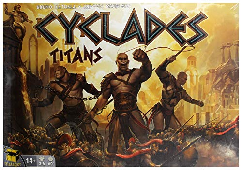 Unbekannt Cyclades Titans - Dutch, English, French, German, Spanish