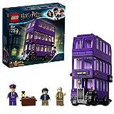 LEGO 75957 Harry Potter Der Fahrende Ritter Spielzeug, Dreifachdeckerbus, Sammlerset mit Minifiguren - LEGO