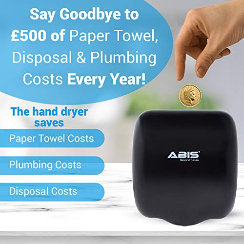 ABIS Hand Dryer for Toilets High Speed Automatic Electric Heavy Duty Stainless Steel Commercial Dryer